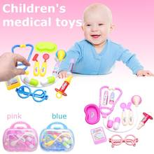 11Pcs Children Pretend Doctor Game Toys Play House Medical Toy Simulation Drama Props Children Toys(China)