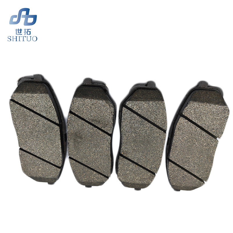 4pcs set car semi metal front brake pads for 2015 Sorento auto part in Car Brake Pads Shoes from Automobiles Motorcycles