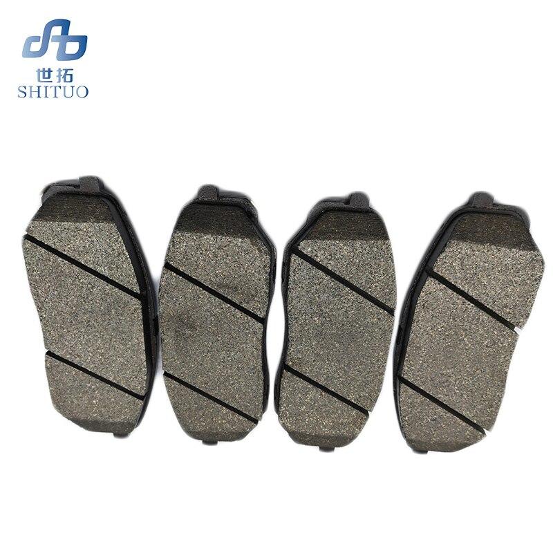 Plaquettes de frein avant semi-métalliques de voiture 4 pièces/ensemble pour pièce auto Sorento 2015