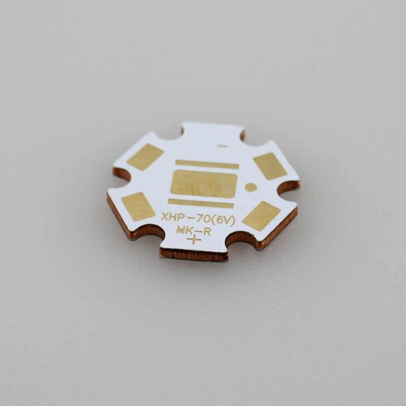 20mm x 1.6mm 6 V LED ogrzewania miedzi gwiazda dla CREE XHP70/MK-R (5 sztuk/partia)