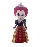 Alice in wonderland red queen mascot costume Halloween costumes for Halloween party event