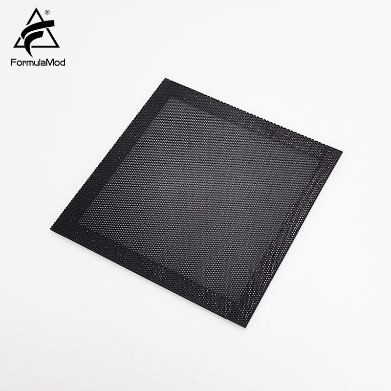 FormulaMod Fm-FCW, 120mm Air Filter Nets, Dust Filters, Black Net With Magnetic Strips, 120x120mm For Case/Fans