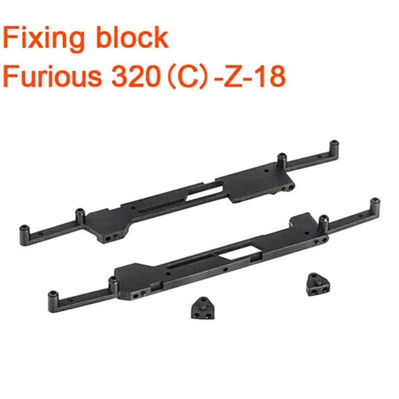Original Walkera Furious 320 font b RC b font Drone Spare Parts Fixing Block Furious 320