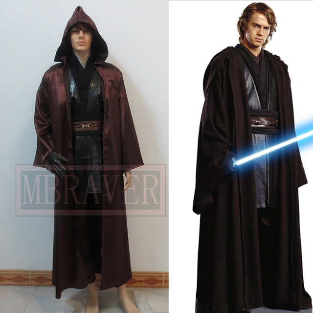 star wars kost m erwachsene anakin skywalker cosplay. Black Bedroom Furniture Sets. Home Design Ideas