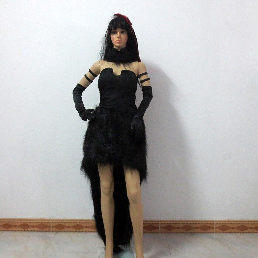 Puella Magi Madoka Magica Akemi Homura Rebellious Story Devil Demon  Christmas Party Halloween Uniform Outfit Cosplay Costume