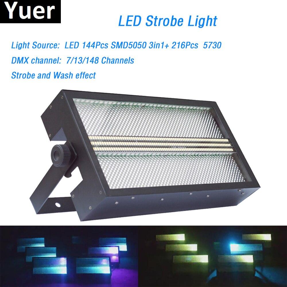 Сценический эффект освещения светодиодный супер яркий свет строба RGB 3in1 СВЕТОДИОДНЫЙ светильник светодиодный мыть Строб 2in1 с Цвет смесь дл