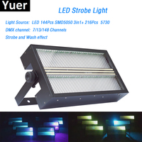 Сценический эффект освещения светодио дный супер яркий свет строба RGB 3in1 светодио дный лампа светодио дный мыть Строб 2in1 с Цвет смесь для dj с
