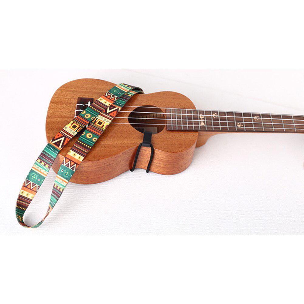 Etnische stijl ukelele riem duurzaam verstelbare print lint clip-on - Muziekinstrumenten - Foto 6