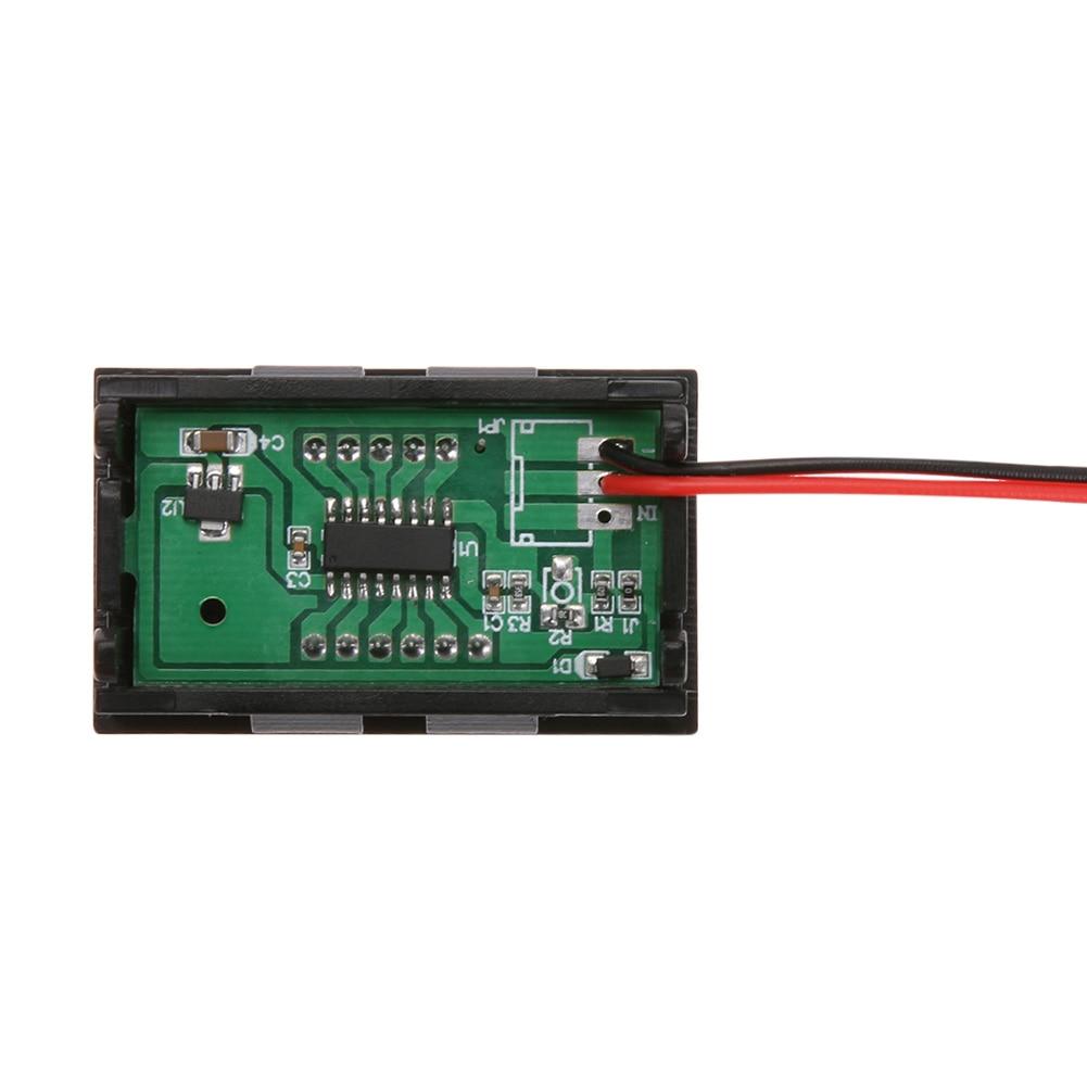 Skaitmeninis nuolatinės srovės voltmetro ampermetras 0.56 colių - Matavimo prietaisai - Nuotrauka 6