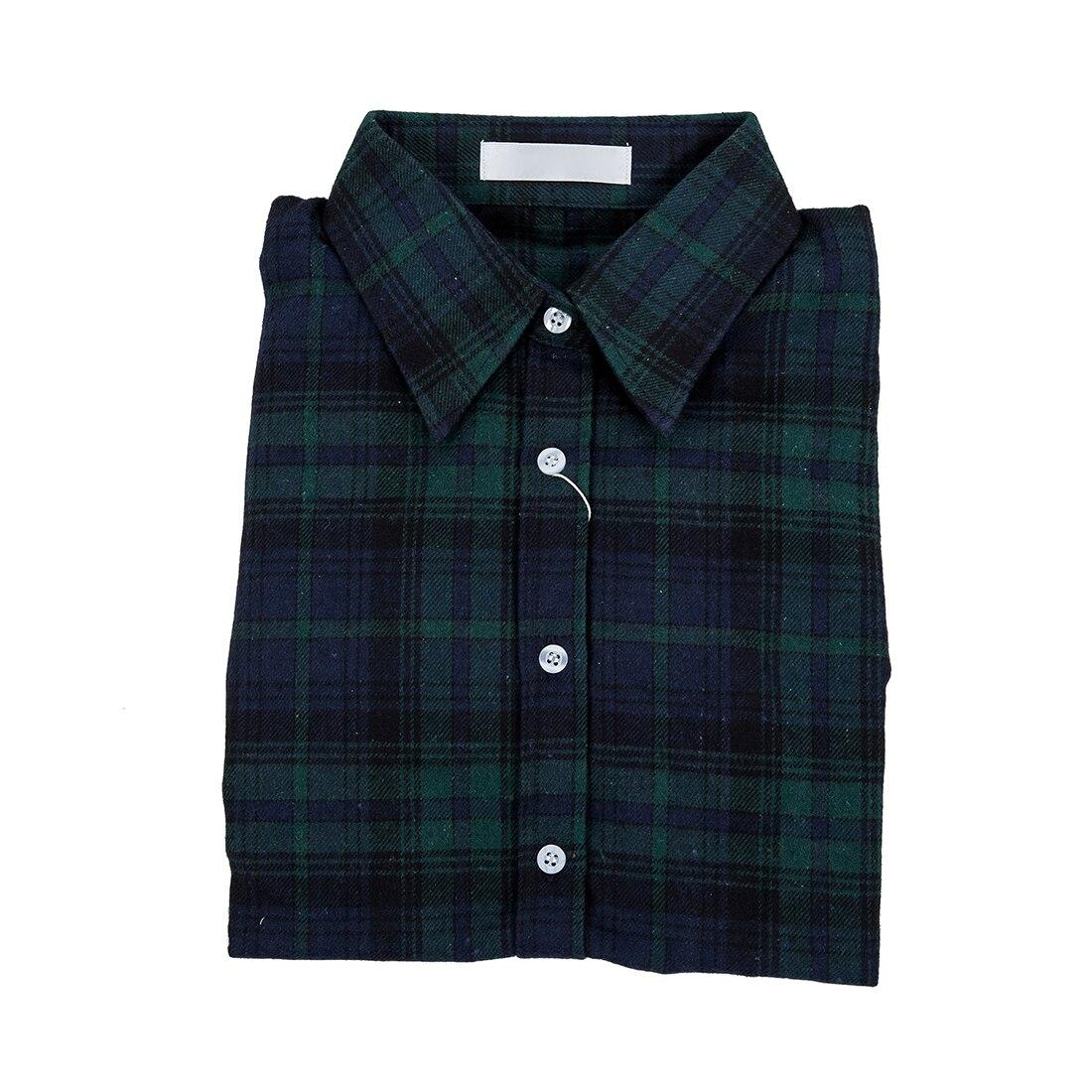 Green Check Shirt Womens Custom Shirt