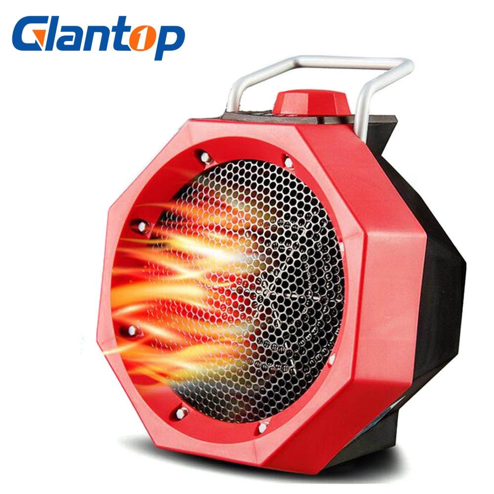Glantop Portable Electric Air Heater Warm Air Blower Mini