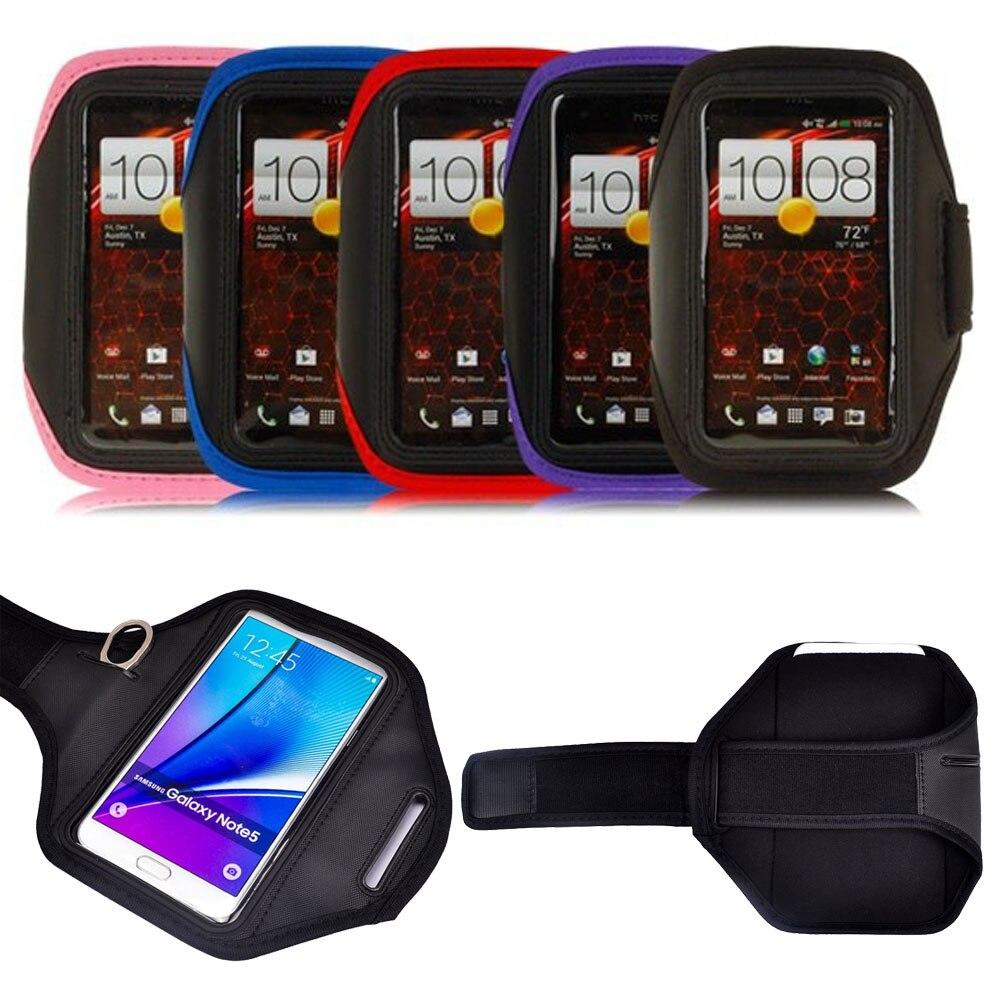bilder für 100 teile/los universal 5,5 zoll sport armbandtasche für xperia z3 z5 für galaxy note 7 hinweis 2 3 5 s6 s7 rand für iphone 5 7 6 s plus