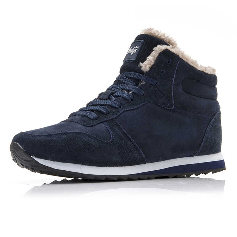Mannen Schoenen 2019 Hoge Top Winter Schoenen Keep Warm Casual Schoenen Heren Plus Size 35-46 Winter Sneakers Homme designer Krasovki Mannen