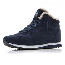 Men Shoes 2019 High Top Winter Shoes Keep Warm Casual Shoes Mens Plus