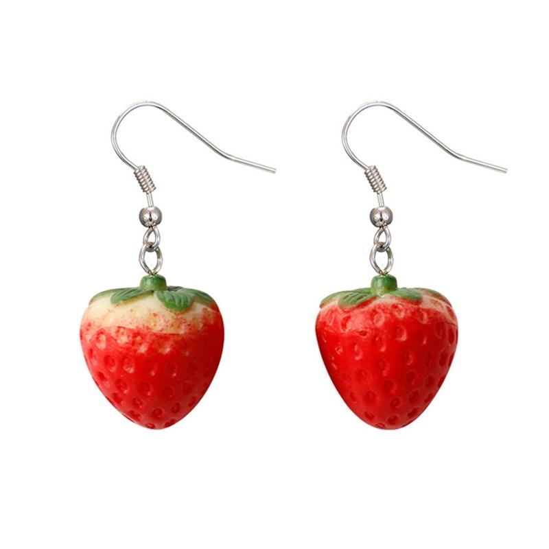Strawberry Earrings 1