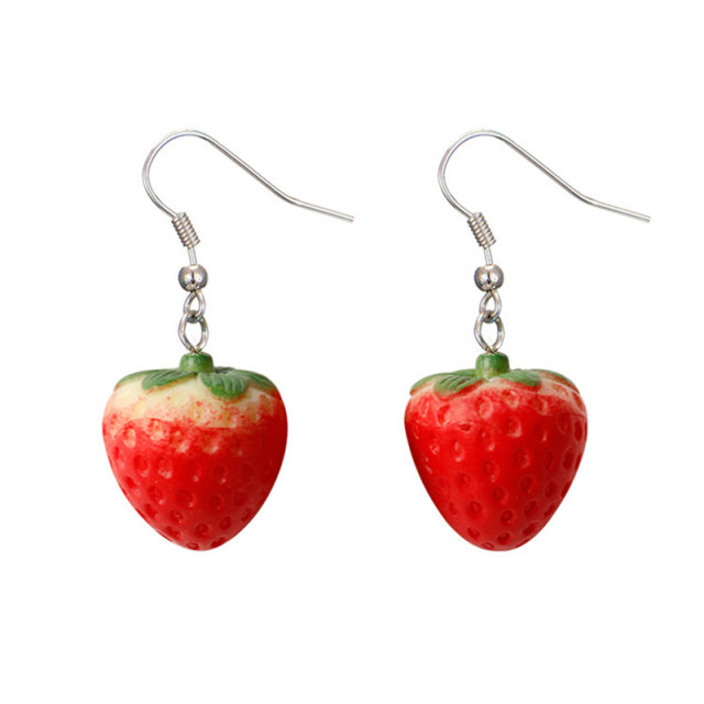 Strawberry Earrings 1