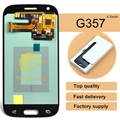 2pcs Grey New Super AMOLED Original LCD Screen+Touch Digitizer Screen Assembly For Samsung Galaxy Ace Style LTE G357 G357FZ