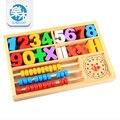 Juego creativo de la Caja Digital de Aprendizaje/Bebé Niños Educativos Juguetes De Madera Regalo de Cumpleaños Infantiles oyuncak