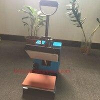 Manual label heat press machine, manual trademark transfer printing machine, label heat press machine price