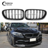 F10 F11 ABS / Carbon Fiber Front Bumper Kidney Grille For BMW 5 Series F10 M5 F11 2010 2017