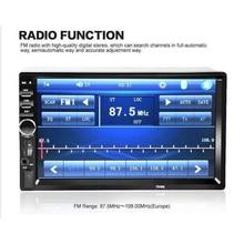 7 pouces voiture MP4 MP5 joueurs Bluetooth Central MultimediaTouch écran avec Vision nocturne caméra de vue arrière Auto Radio lecteur vidéo