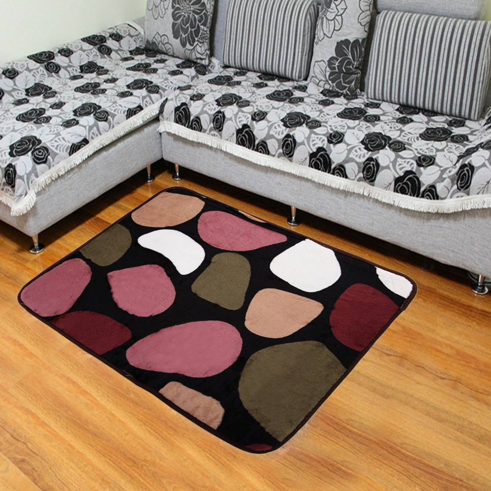 Coral Fleece Carpet Bed Rug Coral Velvet Anti Slip