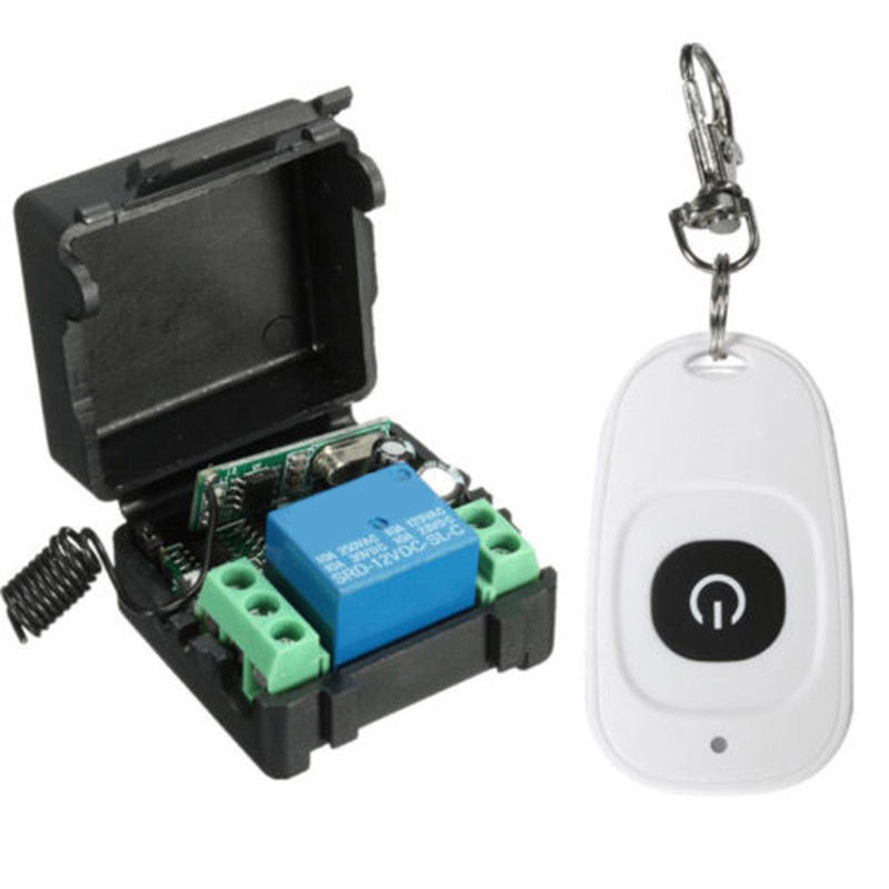 DC 12V 10A 315MHz Wireless Remote Control Relay Learn Code Switch Transmitter Receiver -- JDH99 remote control switch system dc 12v 10a mini relay remote control plug wireless remote on off transmitter receiver 315mhz 433mhz