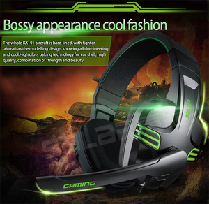 Image 5 - 3.5mm Wired Earphone Gaming Headset PC Gamer Stereo Headphone with Microphone for Computer PC Gamer