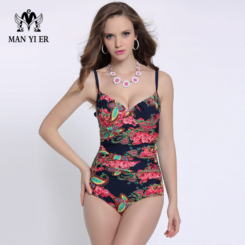 2016 New Hot Sale Women's Girl Sexy Swimwear One Piece Swimsuit Female Swimming Suits Bathing Suit Plus Size Monokini aindav one piece swimsuit monokini biquini brasileiro sexy swimwear for women bathing suits plus size bodysuits swimming suit
