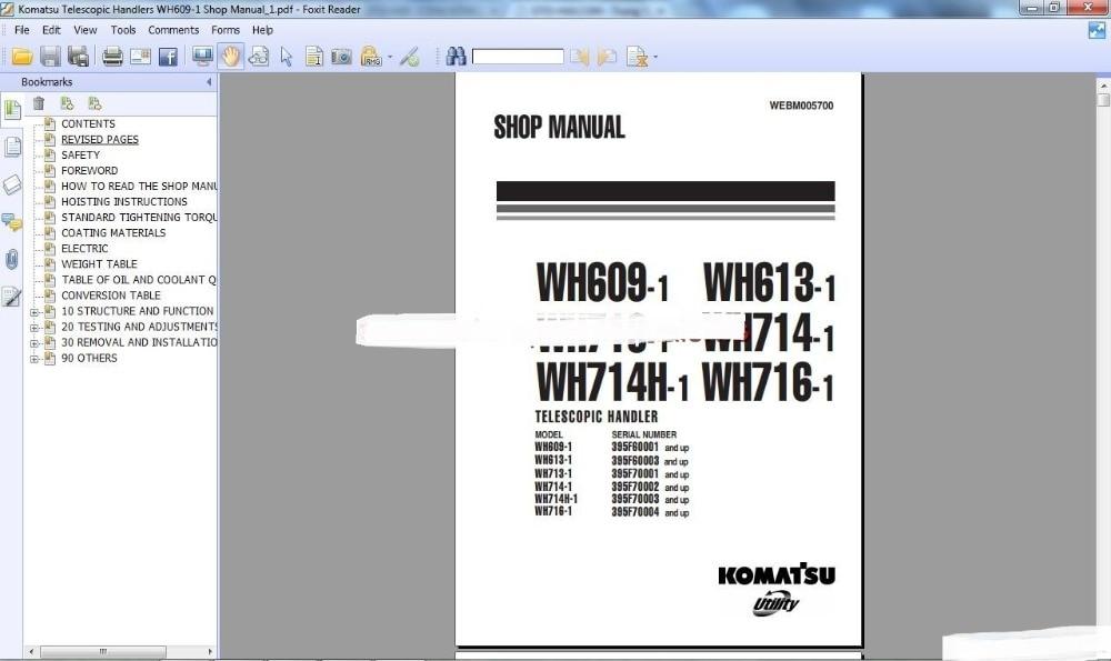 komatsu css construction excavators medium size shop manuals in