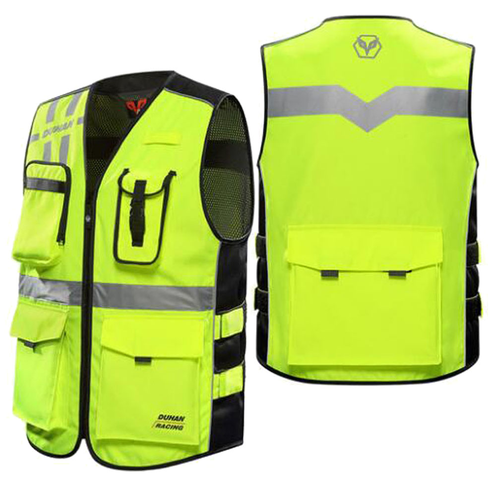 BENKIA Motorcycle Jacket Racing Reflective Vest Riding ... |Motorcycle Safety Vest Womens