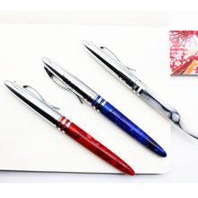 FULIWEN 009 extra fine fountain pen acrylic red blue white small pens