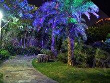 Más nuevo RGB 3 Color mover luciérnaga jardín luces láser para exterior paisaje decoración con mando a distancia rf, luces de la navidad