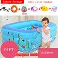 Тони Ле Тур утолщенной младенческой надувные бассейн дом ребенка дети ребенок взрослый семья купание с uare бассейн Тони Ле