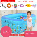 Tony Le Tour thickened infant inflatable swimming pool child home children baby adult family bathing s uare pool Tony Le