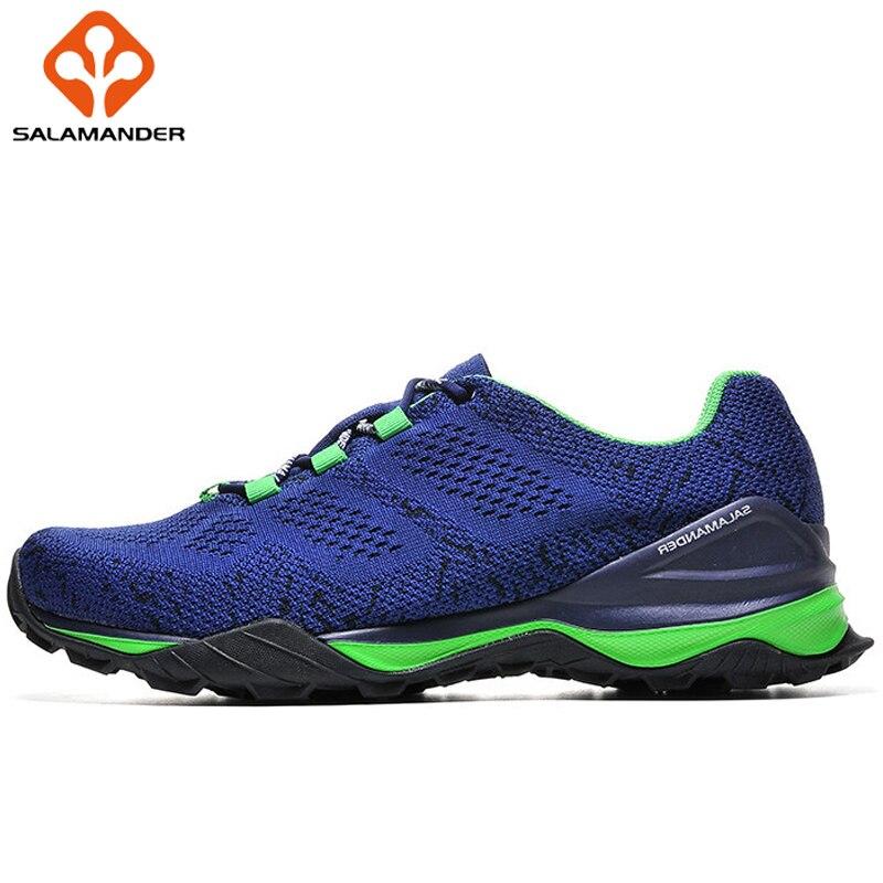 SALAMANDER Mesh Breathable Men Sneakers Massage Wear Resisting Women Running Shoes Non Slip Outdoor Sport Shoes Walking Shoes