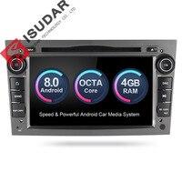 Isudar Car Multimedia Player 2 din Car Radio GPS Android 8.0 For OPEL/ASTRA/Zafira/Corsa 4GB RAM Wifi Microphone OBD2 Bluetooth