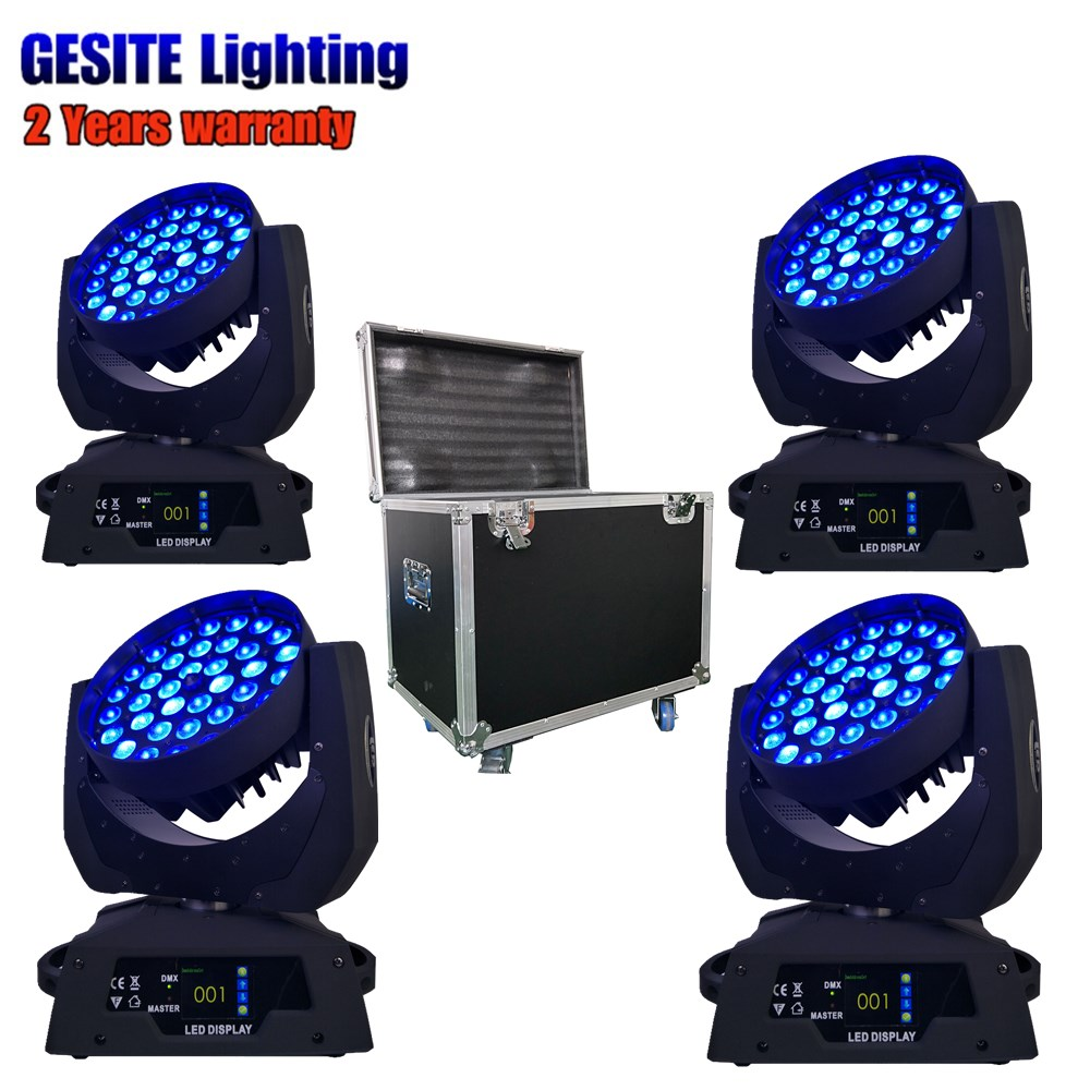 led dj wash light RGBWA 5in1 leds move head 36x15w dmx wash moving head ...