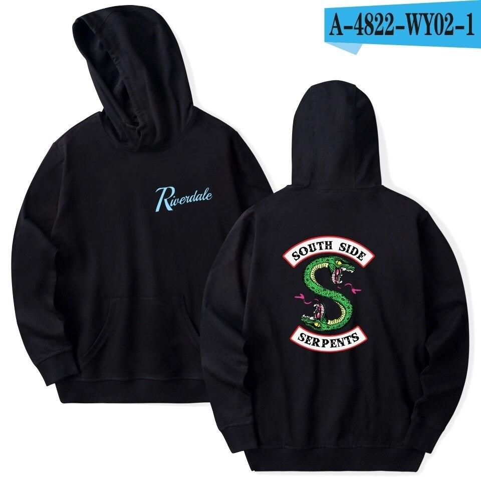 riverdale Hoodies men Sweatshirts Hooded Pullover sweatershirts male/Women sudaderas Archie Andrews hood hoddie