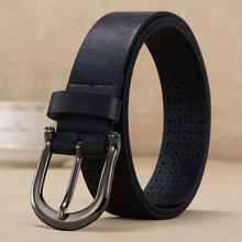 2016 Strap Women genuine leather belt Women casual all-match black  belt  decoration dress belt