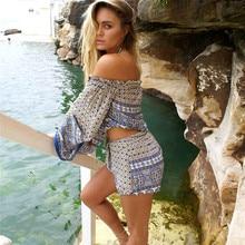 b6cf9c54c5ce8 Cover Up пляж пляжная одежда два Костюм из нескольких предметов прикрыть  купальники женские тайский ветер пляжного отдыха компле.