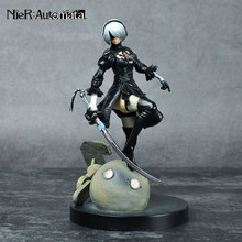 PS4 Game anime figuur NieR Automaten YoRHa No.1 2 Type B 2B Cartoon Speelgoed Action Figure Model Pop Gift(China)