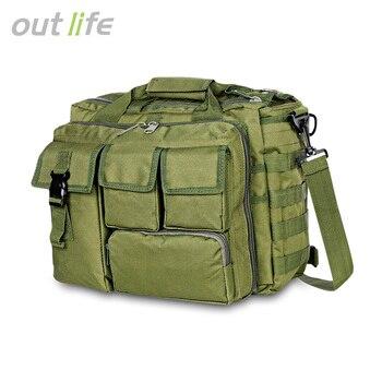 Outlife Military Laptop Messenger Bag Multifunctional Briefcase Shoulder Handbag Water-Resistant Nylon Outdoor Bags shoulder bag