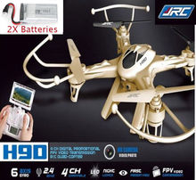 Free Shipping! JJRC H9D FPV Quadcopter HD 2MP Camera Live Video Transmission Drones 2X Battery