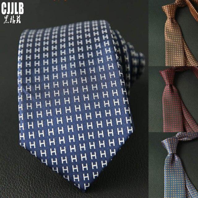 Узкий мужской галстук в полоску, новый дизайн  1