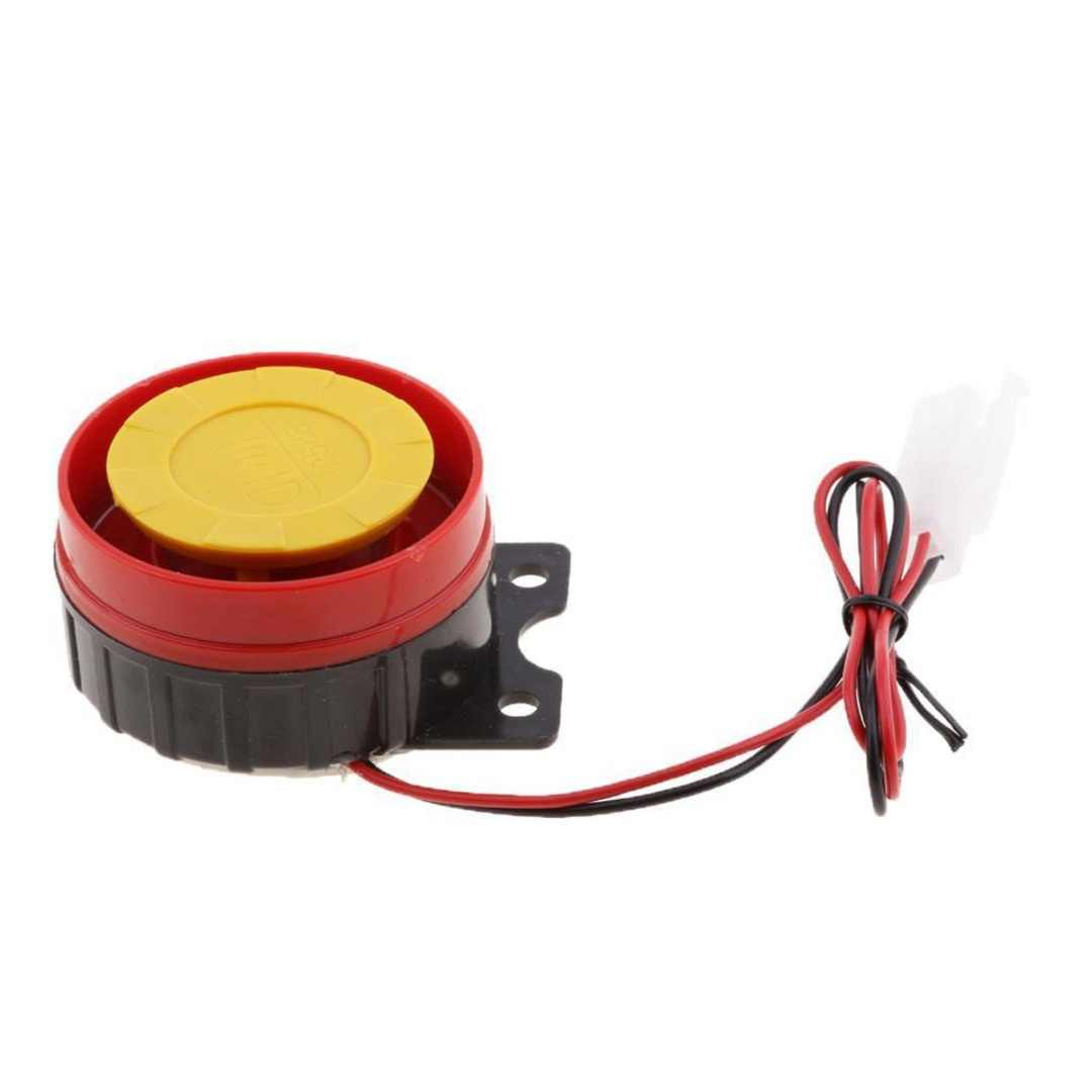 1pc New Arrival 12V Universal Car Truck Motorcycle Raid Horn Electrical Driven Motor Air Siren Alarm Safety Horn