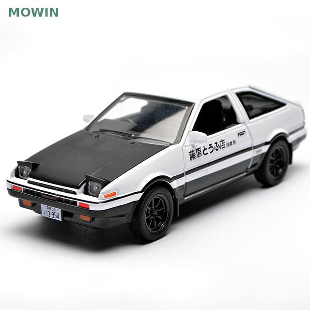2017 The Most Por Interesting Initial D Toyota Ae86 Alloy Models Simulation Model Car Furnishing Articles Back To Toys F
