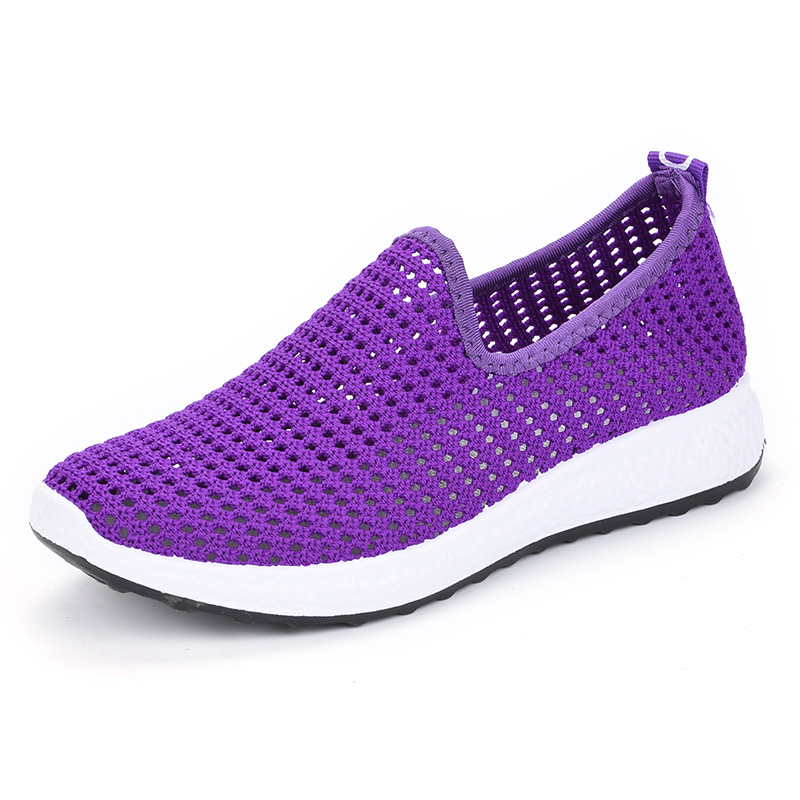 Summer Sneakers Women Flats Shoes Woman Casual Soft Platform Flat Shoes Ladies Slip-on Comfortable Driving shoes female shoes american tourister american tourister warren 97s 96002