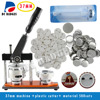 Free Shipping 37mm Badge Machine With 500sets Pin Buttons Circle Cutter Button Badge Making Machine Pack