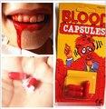 1 PIECE nuevo Y Extraño juguetes día De los Inocentes esos truco juguetes artículos prop scary Horror Blood Píldora
